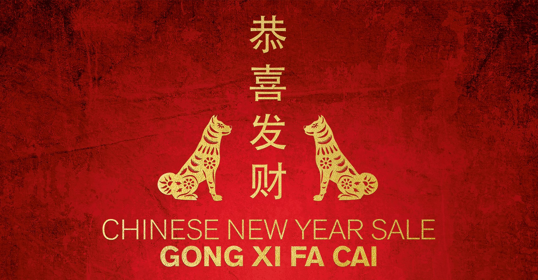 Chinese New Year Sale - das Jahr des Hundes - Alle Angbote hier ...