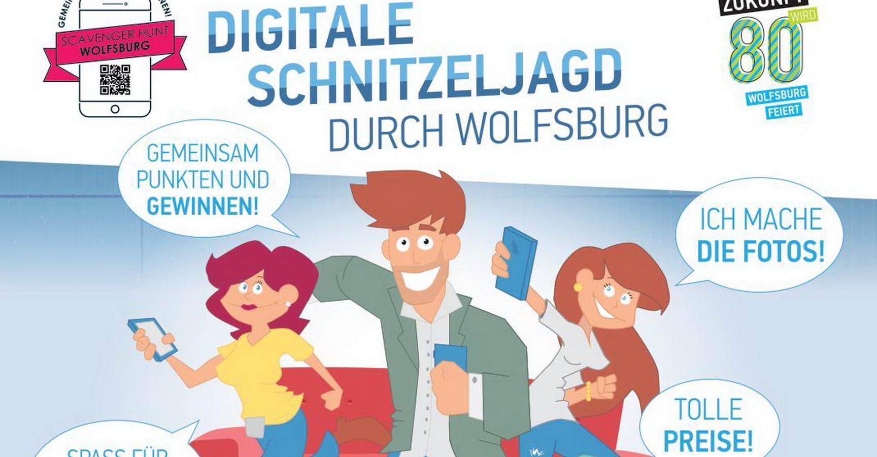 Digitale Schnitzeljagd in Wolfsburg 9. Mai bis 25. Mai 2018 - Tolle ...