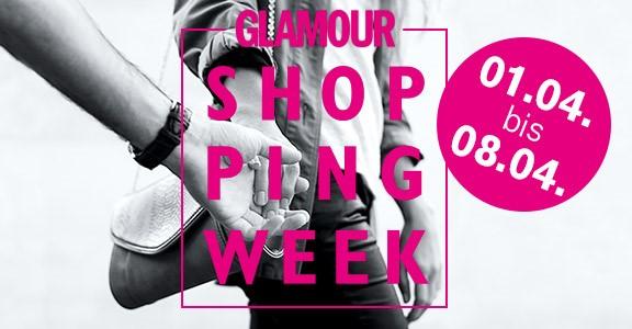 Die GLAMOUR Shopping Week findet von Samstag, den 1. April bis zum Samstag,  den 8. April statt - auch am verkaufsoffenen Sonntag, den 2. 4574e0291f