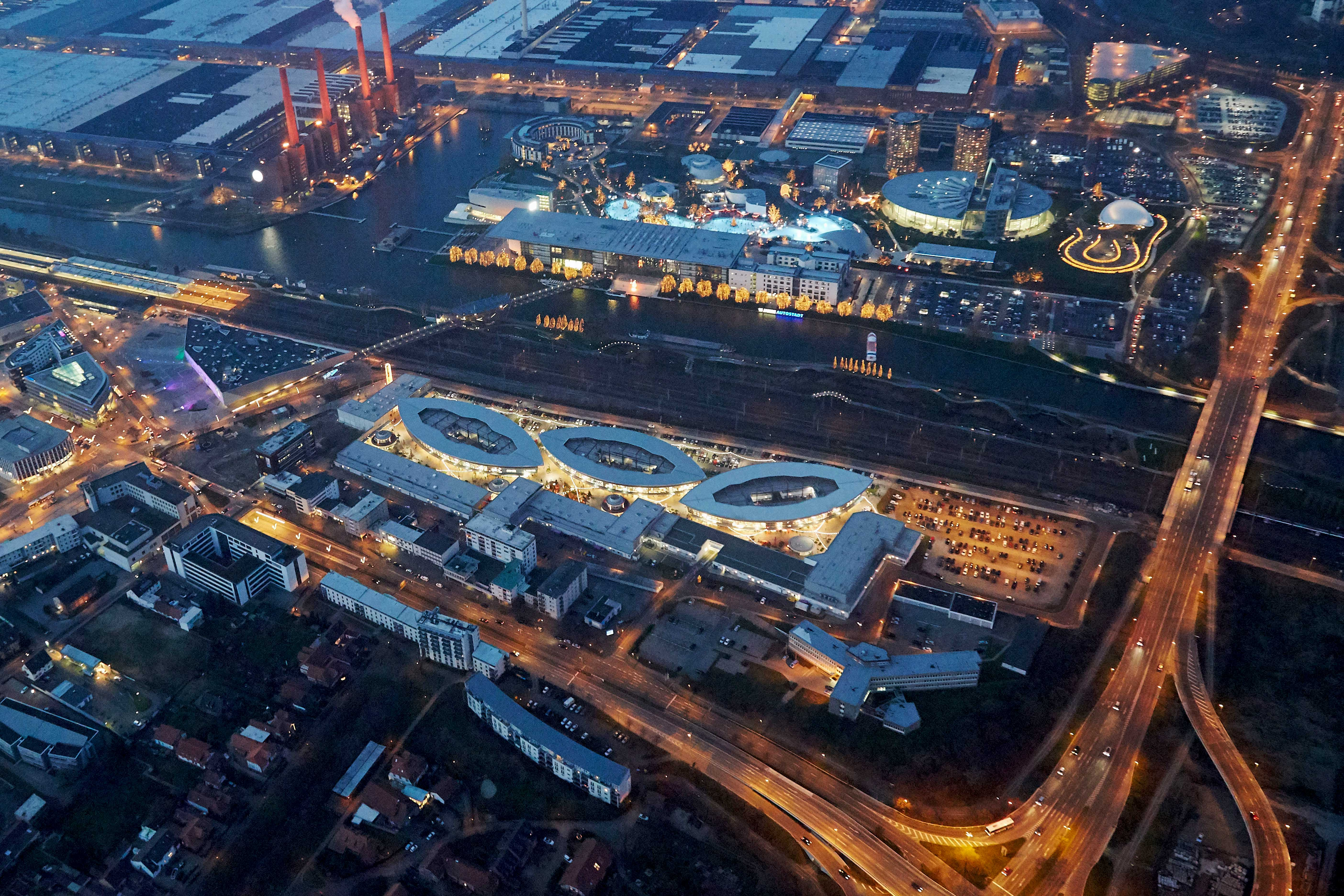 Center Impressionen Designer Outlets Wolfsburg